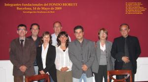 Integrantes Fondo Biorett. 14 de mayo de 2009